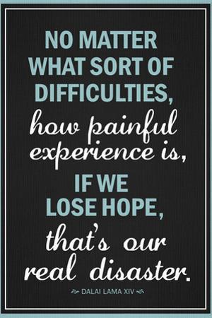 Dalai Lama Hope Quote