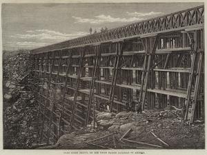 Dale Creek Bridge, on the Union Pacific Railroad of America