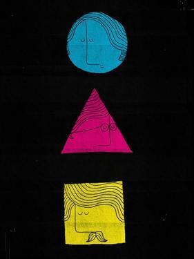 Head Shapes by Dale Edwin Murray