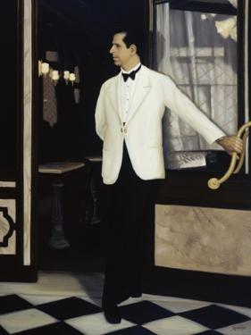 Italian Waiter by Dale Kennington