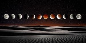 Blood Moon Eclipse by Dale O'Dell