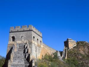 View of Great Wall , Jinshanling, China by Dallas and John Heaton