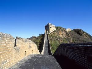 View of Great Wall, Jinshanling, China by Dallas and John Heaton