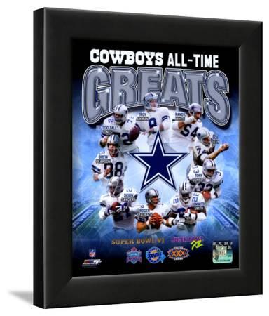 Dallas Cowboys All Time Greats Composite