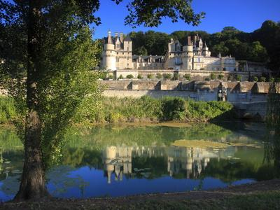 Chateau D'Usse on the Indre River, Rigne-Usse, Indre Et Loire, Loire Valley, France, Europe