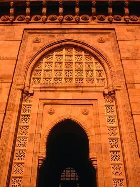 Gateway of India, Monument Built in 1911, Mumbai, Maharashtra, India by Dallas Stribley