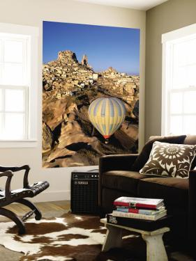 Hot-Air Ballooning over Town by Dallas Stribley