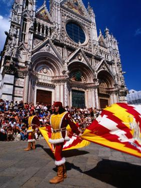 Il Palio Parade, Siena, Italy by Dallas Stribley