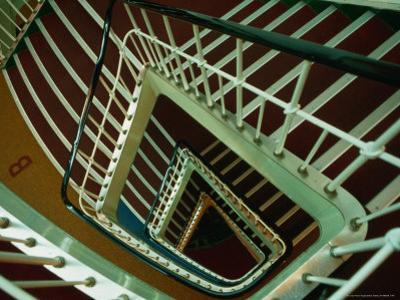 Looking Down the Stairwell of the S.S. Shanghai, China