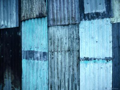Sheets of Corrugated Iron on Village House, Vanuatu