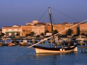 Traditional Fishing Boat at Porto Calasetta, Sant' Antioco, Sardinia, Italy by Dallas Stribley