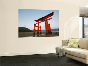 Torii at Low Tide, Itsukushima Shine by Damien Douxchamps
