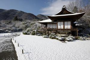 Winter in Okochi-sanso villa, Kyoto, Japan, Asia by Damien Douxchamps