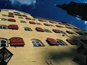 Building Detail in Christianshavn, Copenhagen, Denmark by Damien Simonis
