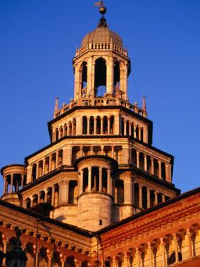 Cupola of Certosa Di Pavia, Milan, Italy by Damien Simonis