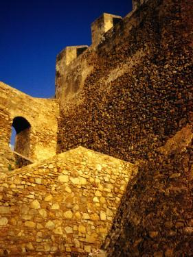 Detail of 15th Century Ramparts, Asilah, Morocco by Damien Simonis