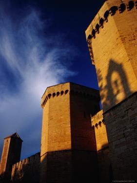 Detail of Porta Reial, Monestir De Poblet, Spain by Damien Simonis