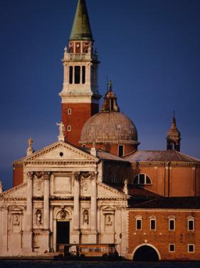 Exterior of Chiesa Di San Giorgio Maggiore, Venice, Italy by Damien Simonis