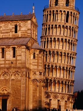 Exterior of Torre Di Pisa (Leaning Tower of Pisa), Pisa, Italy by Damien Simonis
