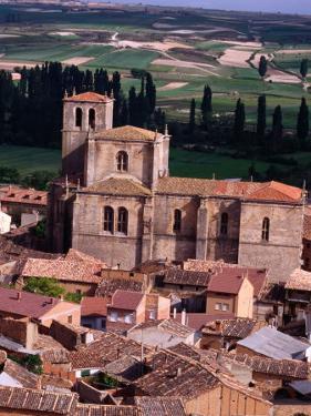 Penaranda De Duero Seen from Castillo, Burgos, Spain by Damien Simonis