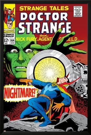 Strange Tales No.164 Cover: Dr. Strange and Yandroth