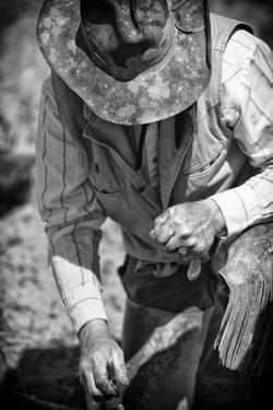 Cowboy and His Hat by Dan Ballard