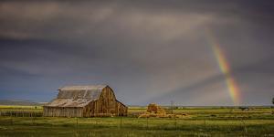 Rainbow Barn by Dan Ballard