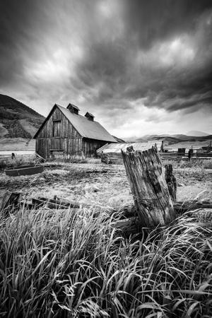 Stormy Barn