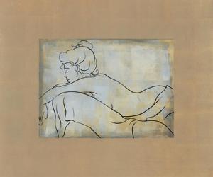 Femme Allongee by Dan Bennion