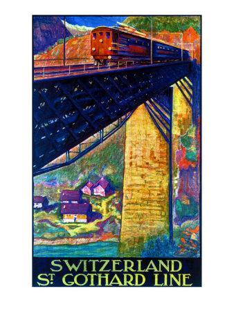 Switzerland, St. Gothard Line