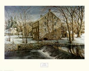 Mill in the Morning by Dan Campanelli