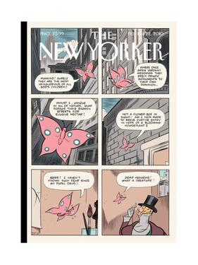 The New Yorker Cover - February 15, 2010 by Dan Clowes
