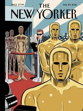 The New Yorker Cover - February 29, 2016 by Dan Clowes