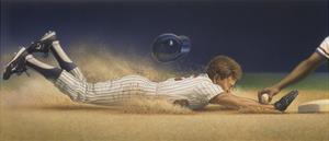 Baseball Player by Dan Craig