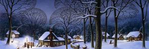 Winter Scene Carollers by Dan Craig