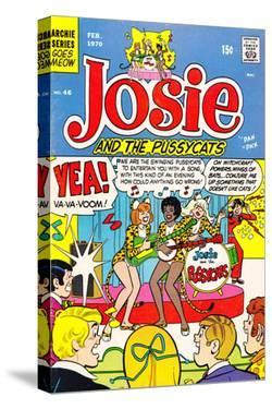 Archie Comics Retro: Josie and The Pussycats Comic Book Cover No.46 (Aged) by Dan DeCarlo