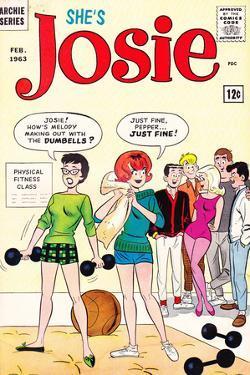 Archie Comics Retro: She's Josie Comic Book Cover No.1 (Aged) by Dan DeCarlo