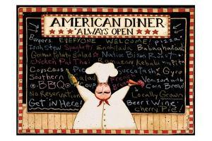 American Diner by Dan Dipaolo