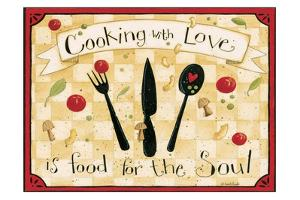 Cooking With Love by Dan Dipaolo