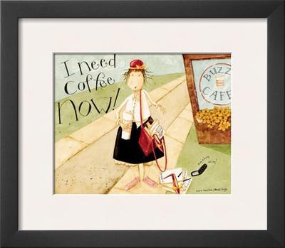 I Need Coffee by Dan Dipaolo