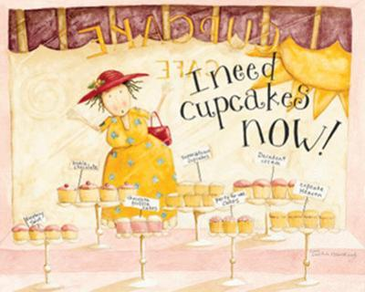 I Need Cupcakes by Dan Dipaolo