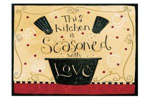 Kitchen Seasoned by Dan Dipaolo