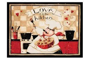 Love Is In The Kitchen by Dan Dipaolo