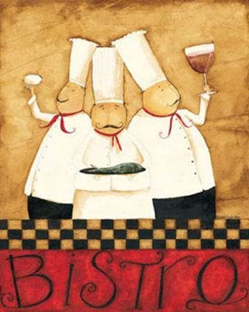 Three Chefs Wine Bistro I by Dan Dipaolo