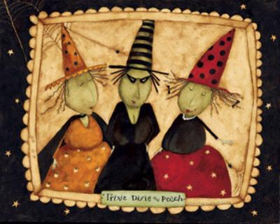 Three Witches by Dan Dipaolo
