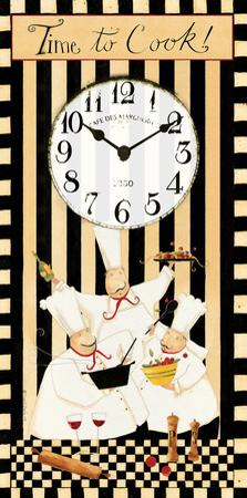 Time to Cook Clock by Dan Dipaolo