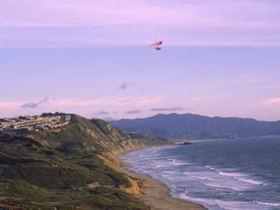 Hang Gliding Over Ocean, Marin County, CA by Dan Gair