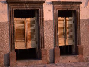 Saloon Doors, San Miguel, Mexico by Dan Gair