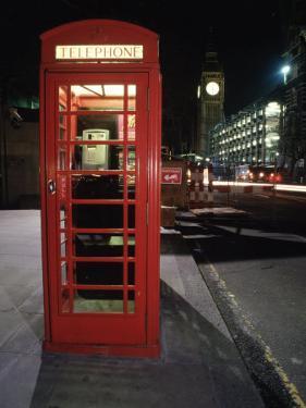 Telephone Booth, London, England by Dan Gair