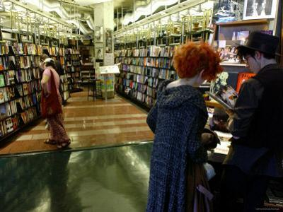 Browsing at St. Mark's Book Shop, East Village, New York City, New York by Dan Herrick